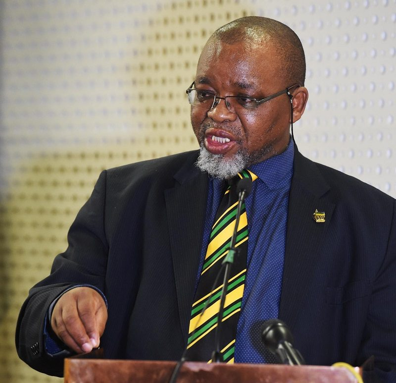 Halt on gas and oil drilling licences will be relaxed, says Gwede Mantashe